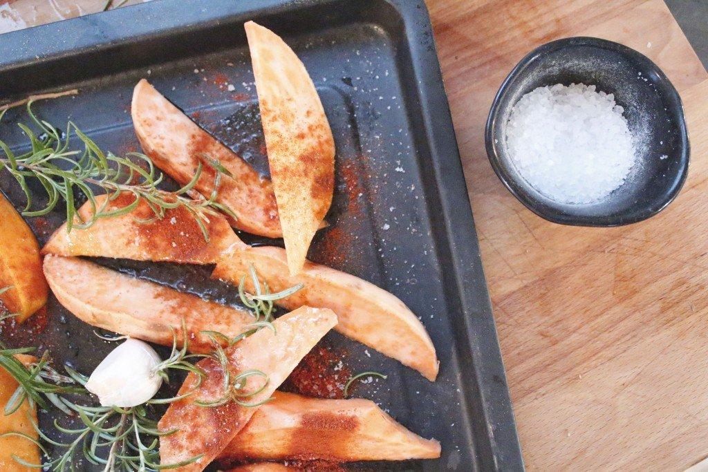 patate zucca paprika
