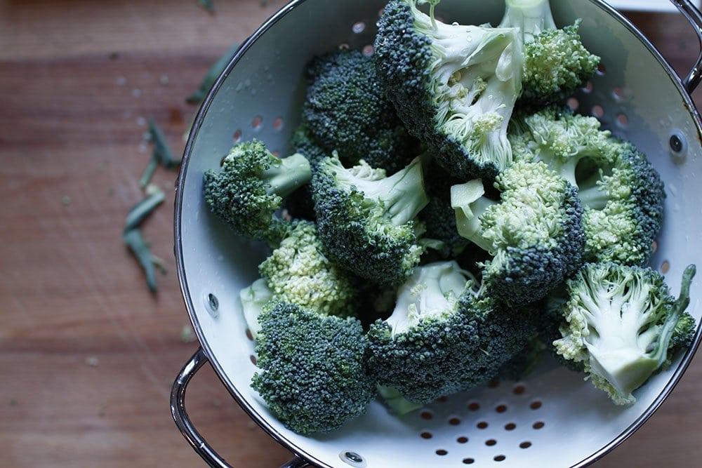 cestini croccanti di broccoli